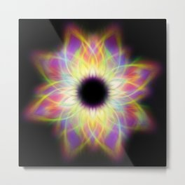 flame flower Metal Print