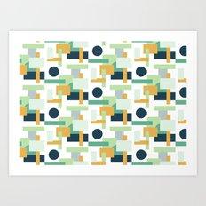 Fresh Pattern I Art Print