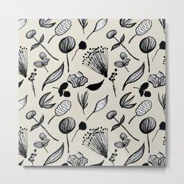 Stone Botanical No. 2 Metal Print