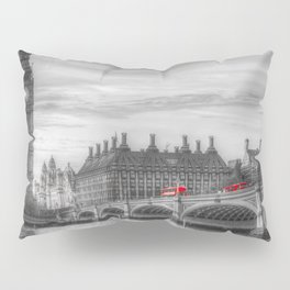 Westminster Bridge and Big Ben Pillow Sham