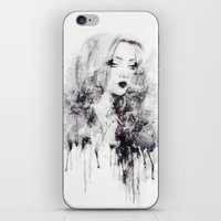 grunge iPhone & iPod Skins featuring Grunge by Sara Eshak