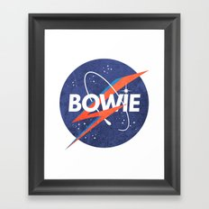 Iconic Bowie Framed Art Print