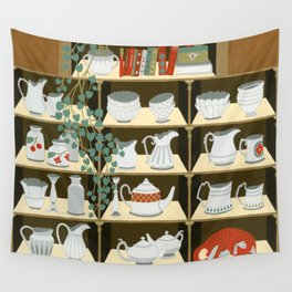 China cabinet Wall Tapestry