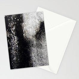 Negro sobre Blanco Stationery Cards