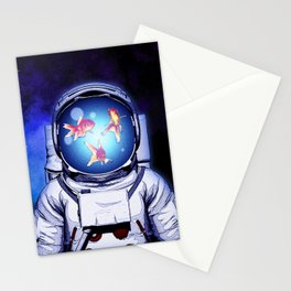 Cosmic Fishbowl Stationery Cards
