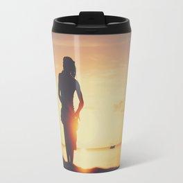Sunset drumming Travel Mug