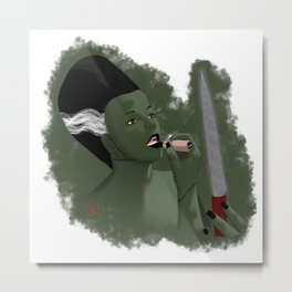 Killer Bride Metal Print