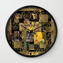 Klimt art Wall Clock