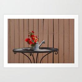 Perfect Summer Day Art Print