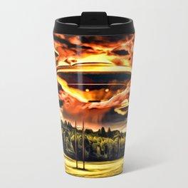 The UFOs Descend Travel Mug