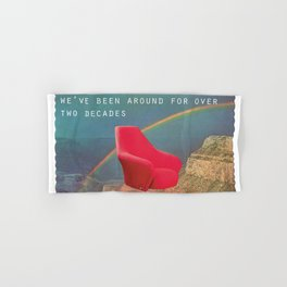 We've been around for over two decades (Red chair and the Grand Canyon) Hand & Bath Towel