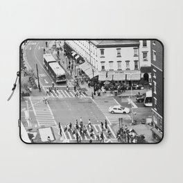 Street people in New York Laptop Sleeve
