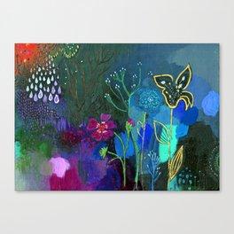Emerging Canvas Print