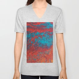 Go with the flow Unisex V-Neck