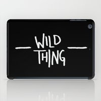 washington iPad Cases featuring Wild Thing: Skagit Valley, Washington by Leah Flores