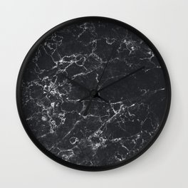 Dark Granite Wall Clock