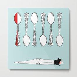 spoons Metal Print