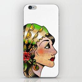Gypsy Woman iPhone Skin