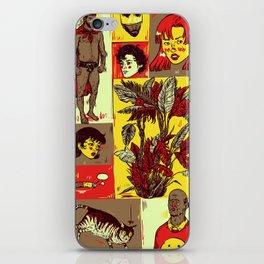 Random_things02.jpg iPhone Skin