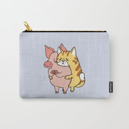 Friend Not Food Cat Carry-All Pouch