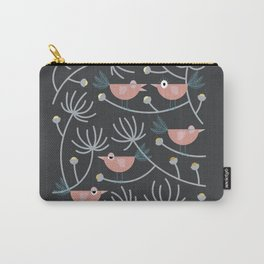 Resting Birdies - Dark//Pastels Carry-All Pouch