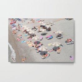 Beach Day Metal Print