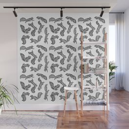 SQUIRRELS Wall Mural