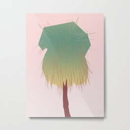 sabal palm Metal Print