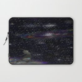 This Life Is Beautiful, With the Colors of The Universe Laptop Sleeve