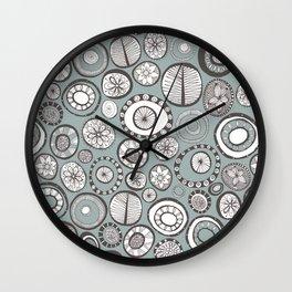 Honolulu hoops mist Wall Clock