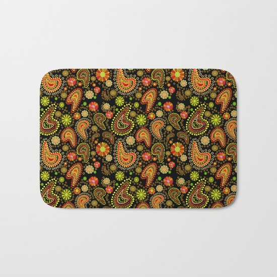 Paisley Power (Autumn) Bath Mat
