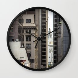 Embarcadero from Chinatown Wall Clock