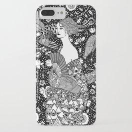 Gustav Klimt - Lady with fan iPhone Case