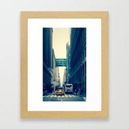 east bound... Framed Art Print