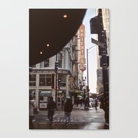 oriental Canvas Prints featuring Oriental by Laura L.