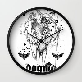 Believe the Dogma - The Guardian Wall Clock