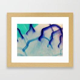 in veins Framed Art Print