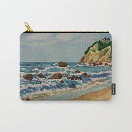 Block Island Beach Scene Carry-All Pouch