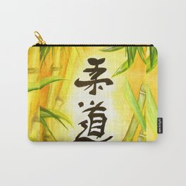 japanese JuDo - the gentle way Carry-All Pouch