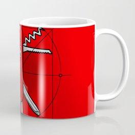 Vitruvian Swiss Knife Coffee Mug