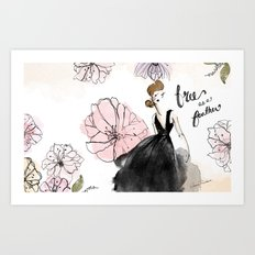 Free as a Feather Art Print