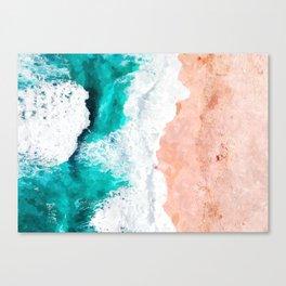 Beach Illustration Canvas Print