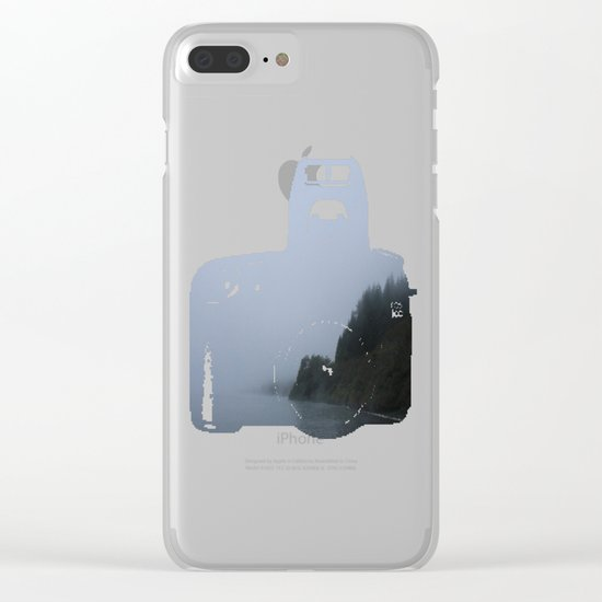 Lost Dusk Clear iPhone Case