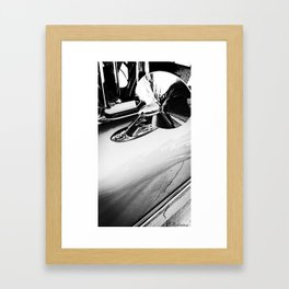 No looking back, let's drive Framed Art Print