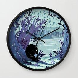 A Quiet Spot of Tea Wall Clock