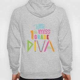 Little Miss 1st Grade Diva Hoody