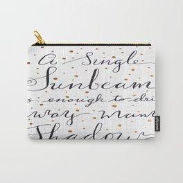 A Single Sunbeam Carry-All Pouch