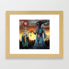 The Gorgon Framed Art Print