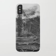 Birch Hallow, Teton Mountains iPhone X Slim Case