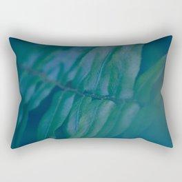 Midnight Green Rectangular Pillow
